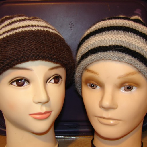 Adult Alpaca Beanies - Natural shades image