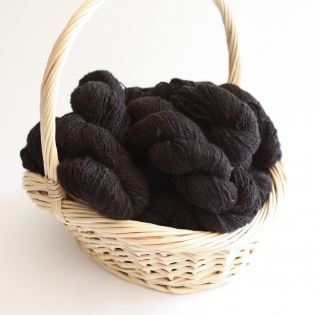 Cottage Spun 8 ply Alpaca Yarn -Black image