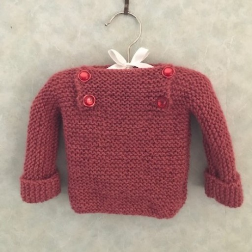 Alpaca Jumper Square Neck - Melon image