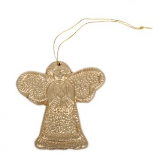 Gold Clay Christmas Angel image