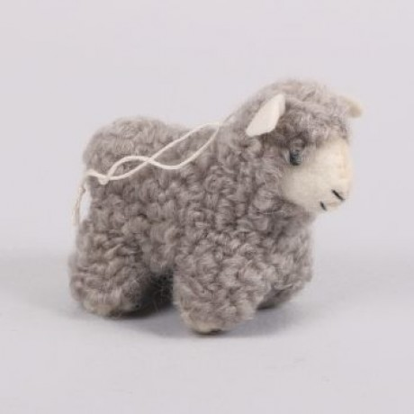Felted Grey Sheep image