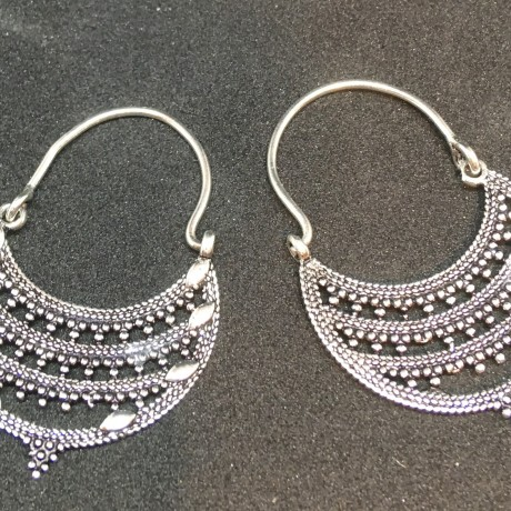 Indian design Hoops image