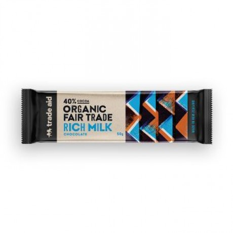 Organic 40% Milk Chocolate 50g image