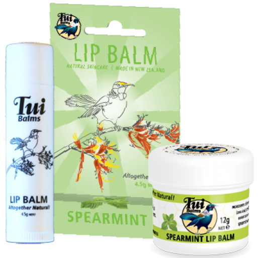 Spearmint Lip Balm Stick 4.2g image