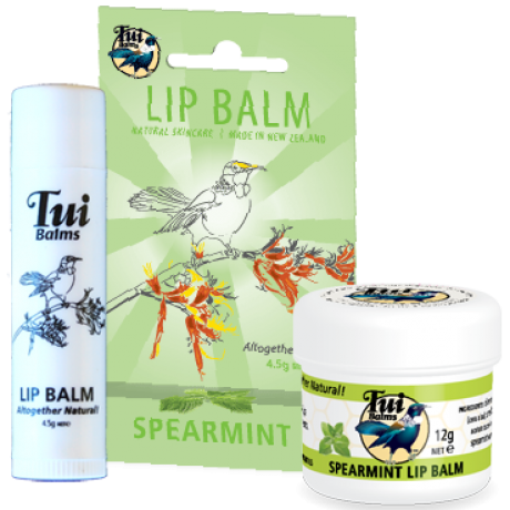 Spearmint Lip Balm Pot 12g image