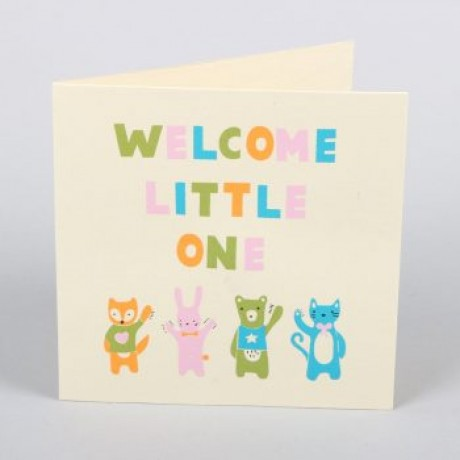 Welcome Baby Card image